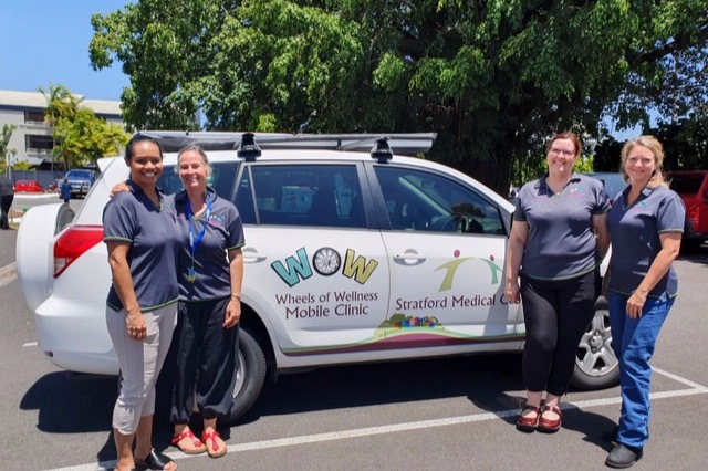 Wheels of Wellness - our first vehicle.